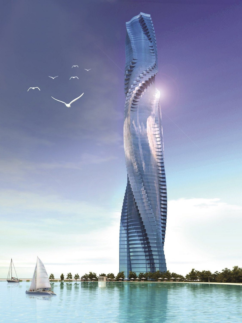 Отель в Дубаях Dynamic Building Dubai