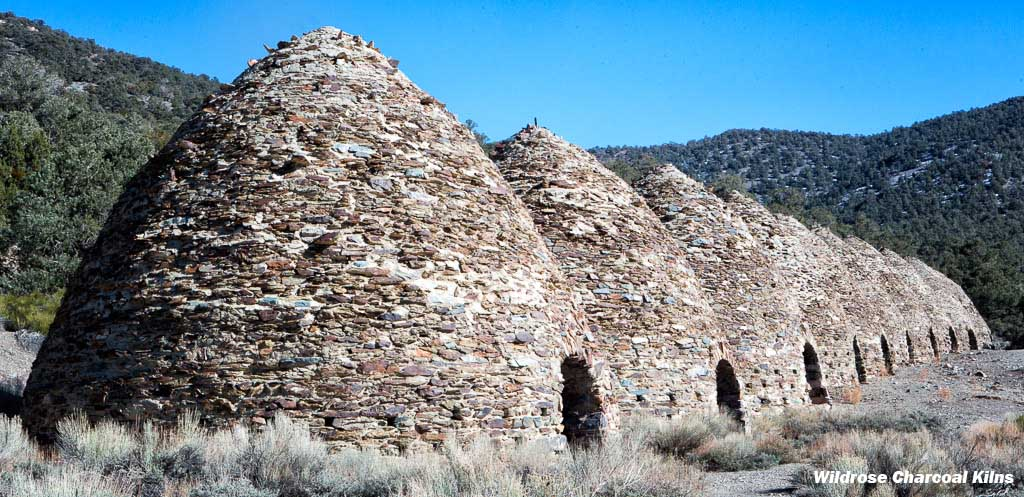 Wildrose Charcoal Kilns